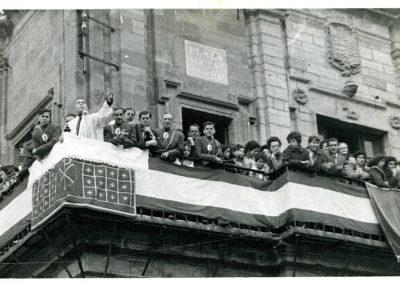 Sermón del Paso de Rvdo. Laguna. Año 1960