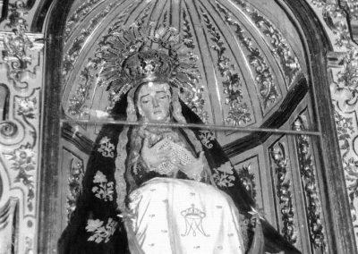 Virgen de la Soledad. Sin datar