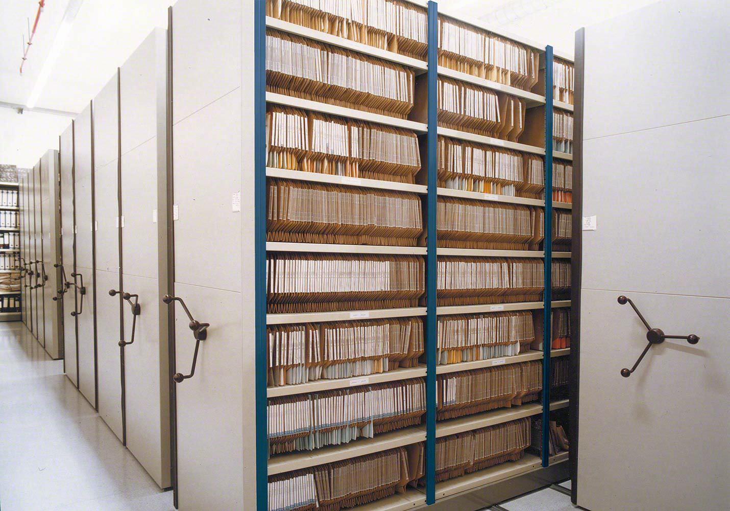 Interior de Archivo