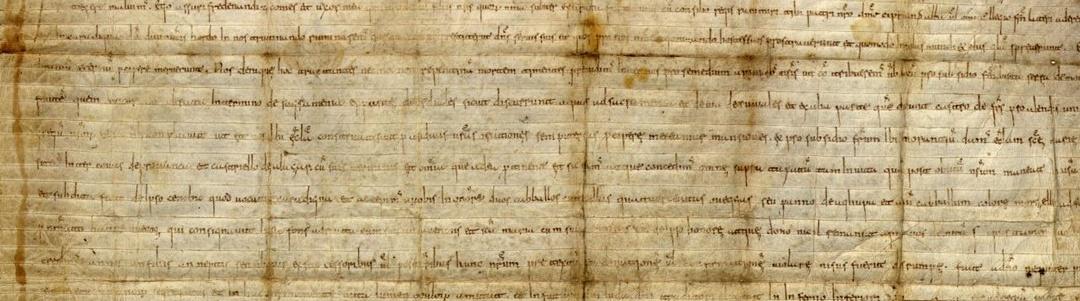 Detalle documento antiguo