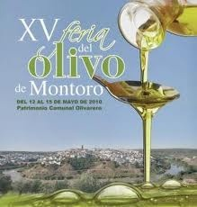Cartel feria del olivo de Montoro