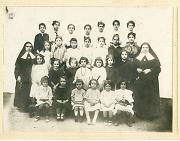 Foto de grupo colegio niñas educandas
